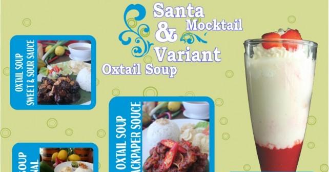Menu Spesial Akhir Tahun Hotel Brothers : Santa Mocktail & Variant Oxtail Soup