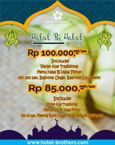 Halal Bi Halal Package